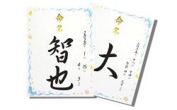 画像3: 命名紙専用額セット(ホワイト額) トミーメモリアル